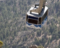 The Sandia Peak Tramway © W. Guy Finley